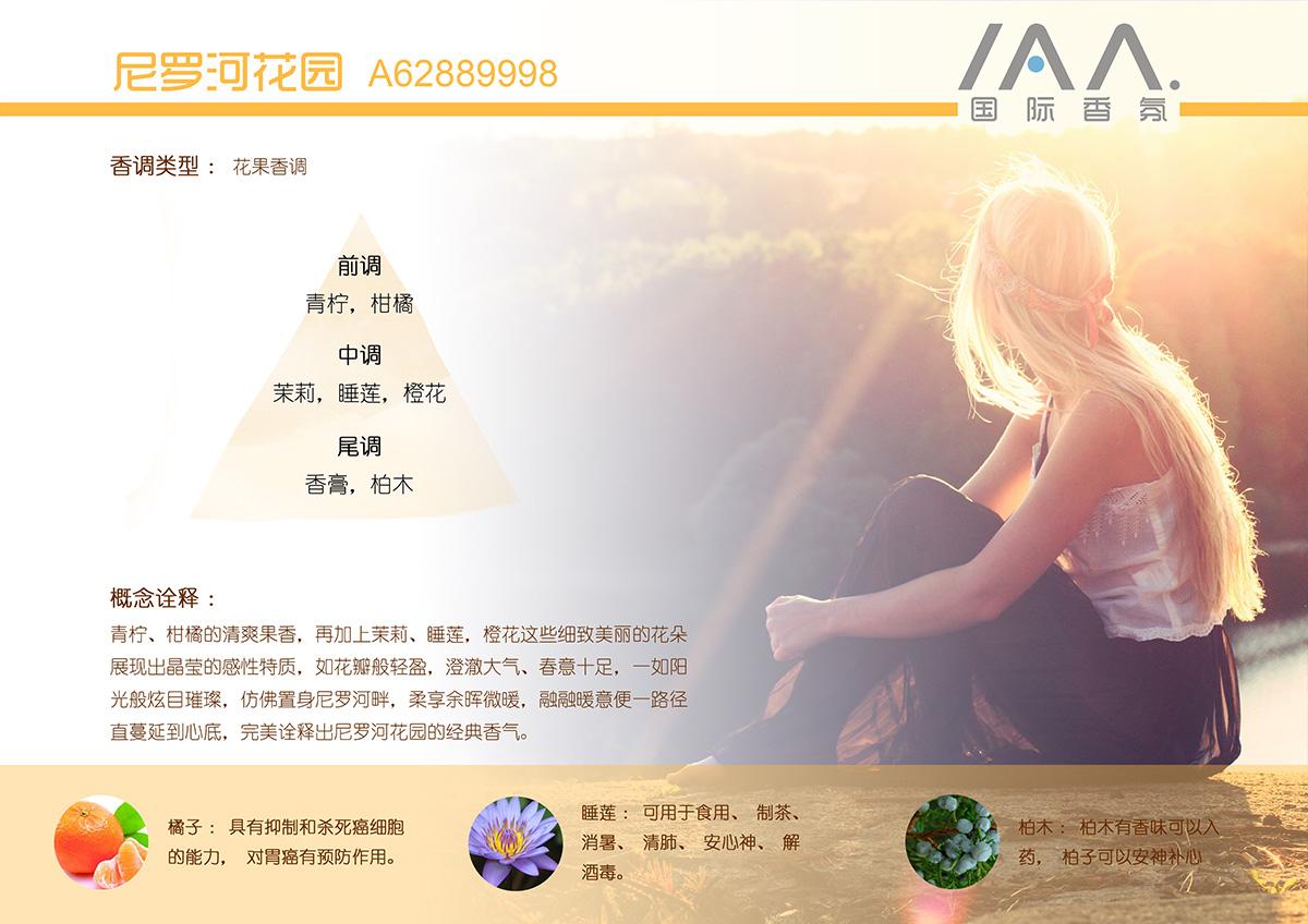 IAA国际香氛尼罗河花园香型精油