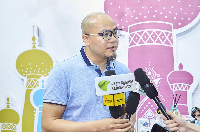 IAA国际香氛携迪士尼阿拉丁系列产品引爆第27届深圳礼品展,权威媒体专访报道!